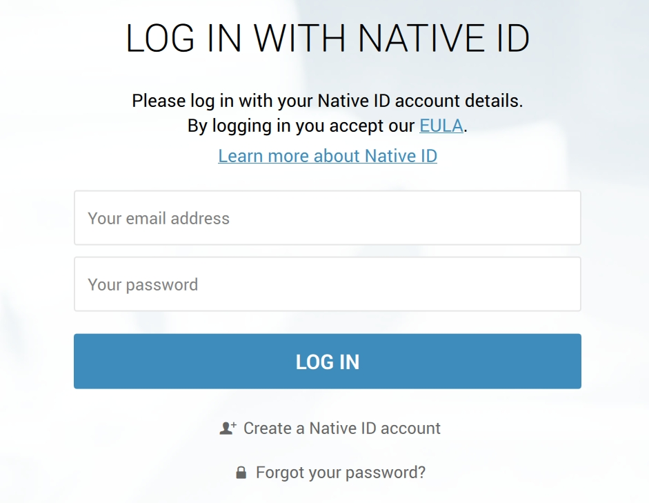 Native_Access_login
