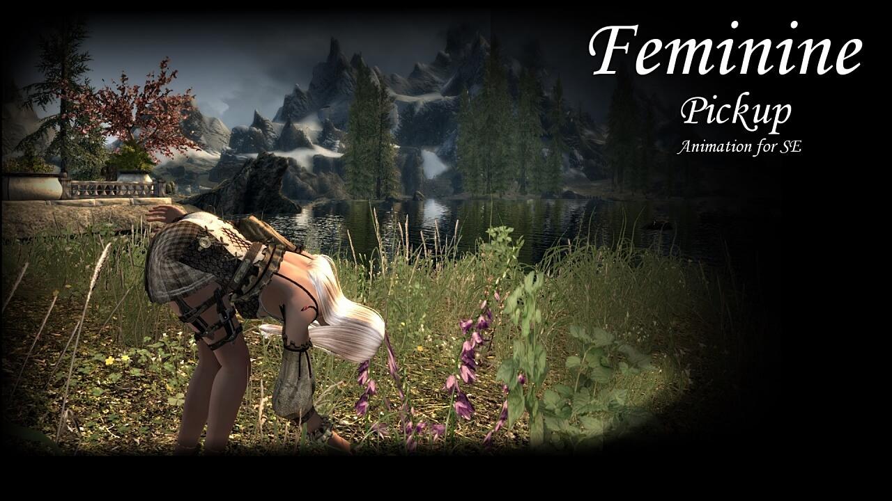 Feminine Pickup Animation SE-1280-001