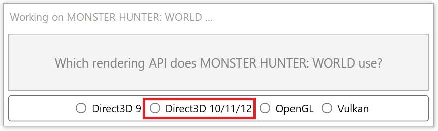 Reshadeインストールで「Direct3D 10/11/12」にチェック